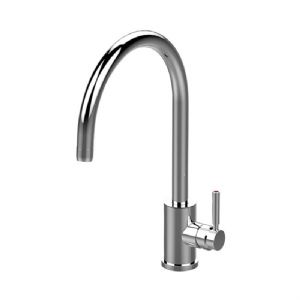 4912 Perrin & Rowe Juliet Sink Mixer with 'C' Spout